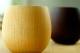【ラッピング込み】木の湯のみと季節の小柄コースターギフトセット