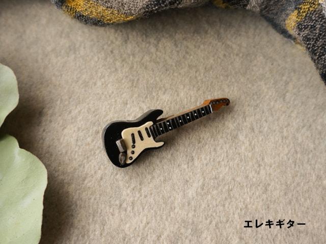 楽器のブローチ