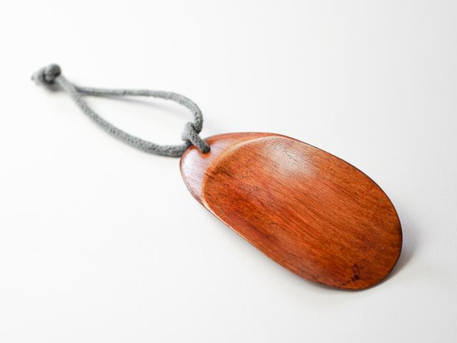 【男性プチギフトにも】携帯できるミニサイズ 木のくつべら