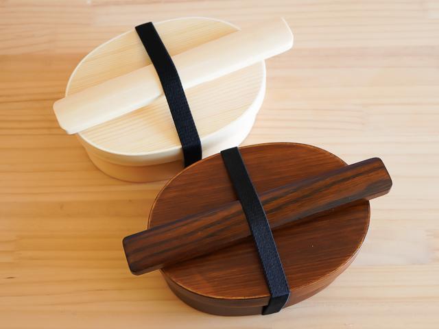【ラッピング込み】曲げわっぱお弁当箱とお箸・はし箱のギフトセット