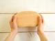 木のお豆型くりぬき弁当箱 ナチュラル