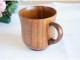 おしゃれな漆塗りのラッパ型ティーカップ