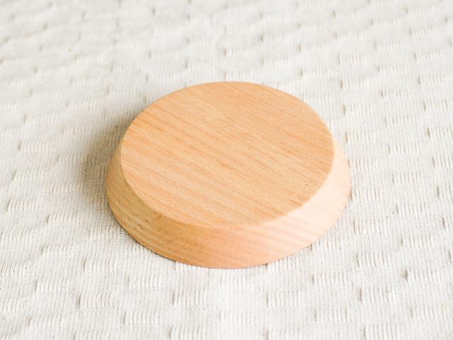 ブナの天然木コースター