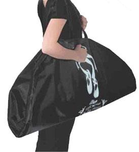 可愛い衣装バッグ♪パール付きトウシューズ柄チュチュバッグ
