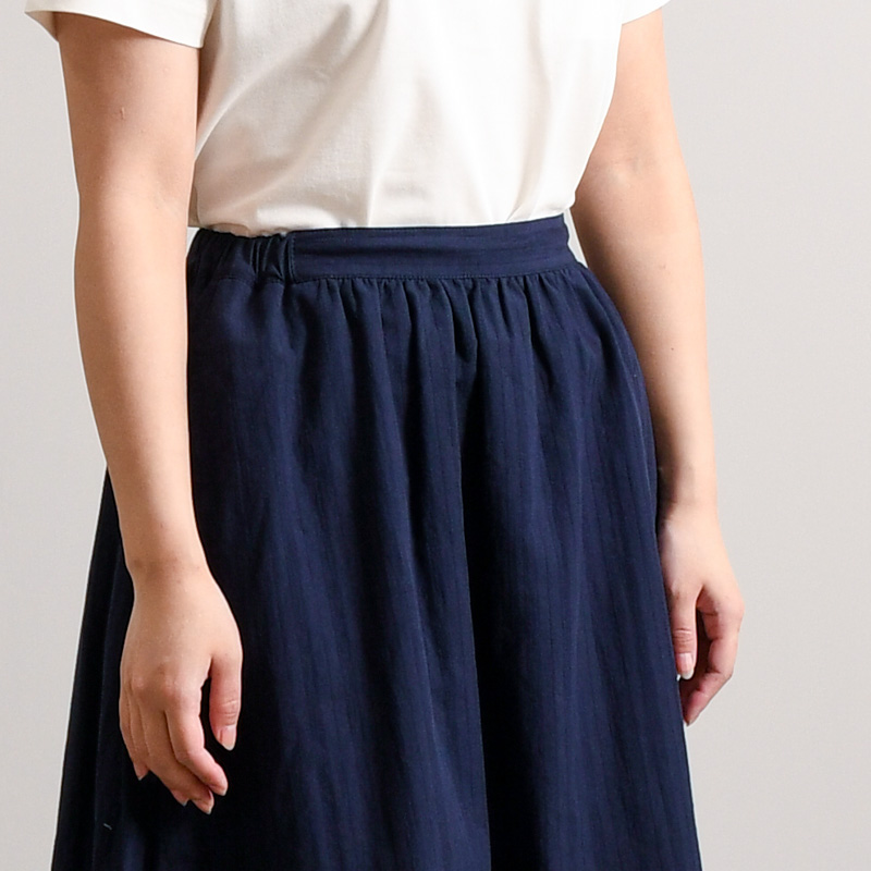 コットンリネンドビー スカート