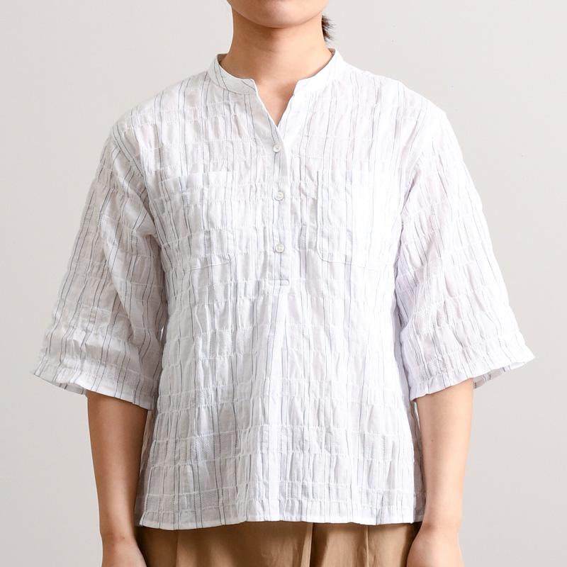パナマシャーリング3 プルオーバー(5分袖)