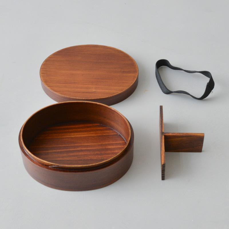 wood2 曲げわっぱ1段弁当箱2(小)