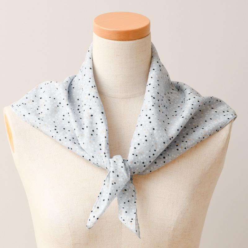 【ドゥ・セー】★SALE30%OFF★返品不可★スイーツドット スカーフ