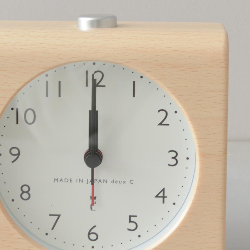 ブロッククロック2(アラーム付置き時計)