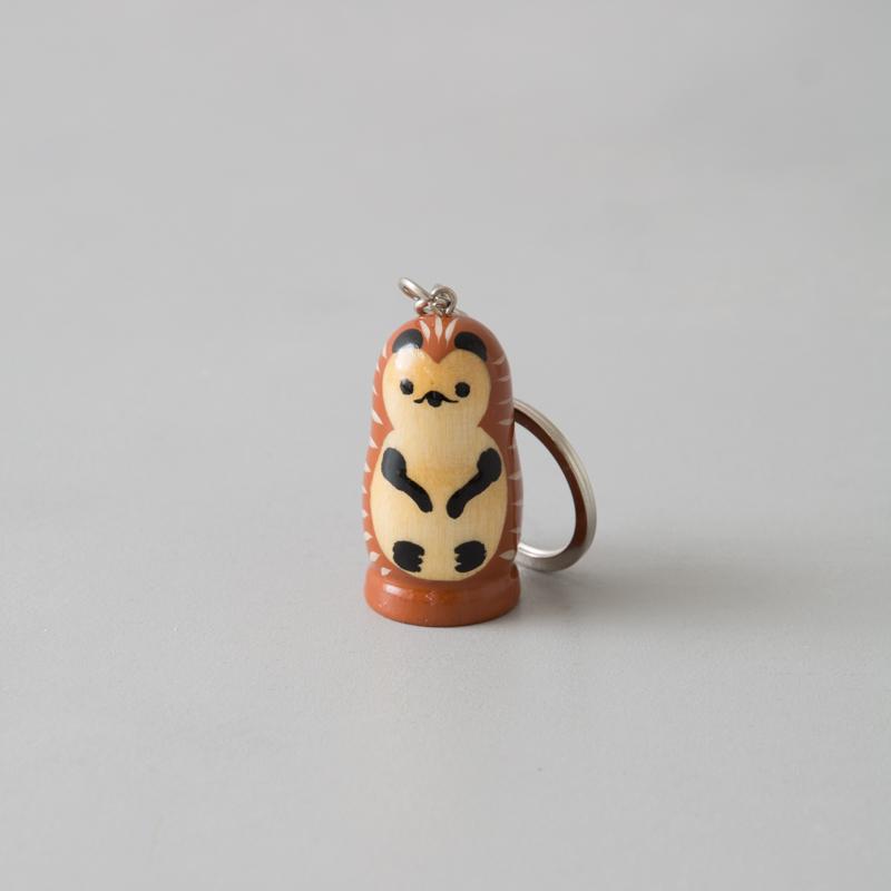 キーホルダー(ハリネズミ)