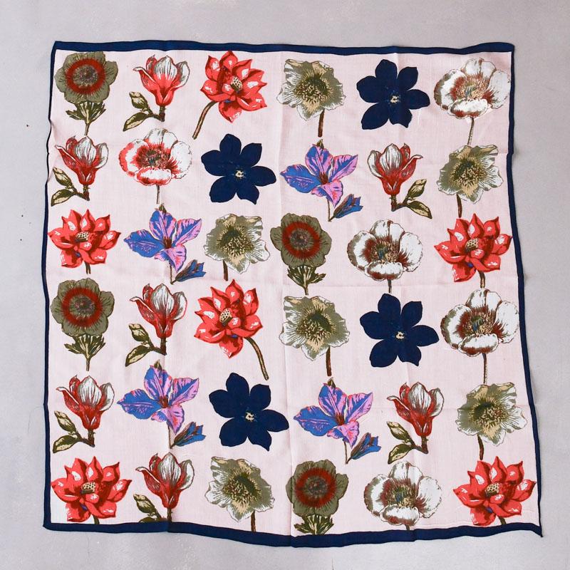 レトロフラワー スカーフ