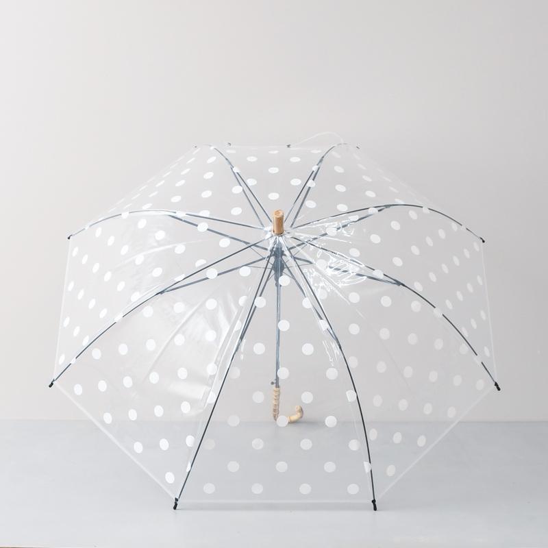 クリアドット 長傘