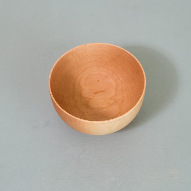 メープル 子供汁椀