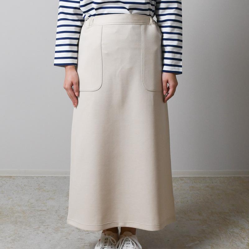 ウールエアカット スカート