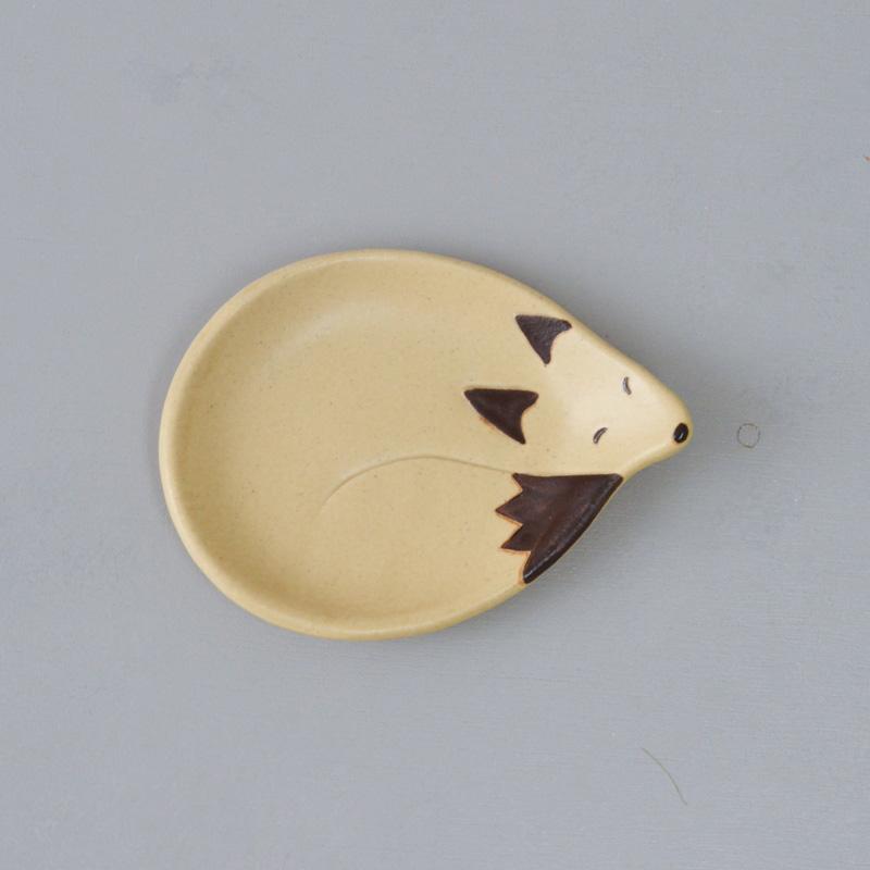 フォレストアニマル 小皿(キツネ)