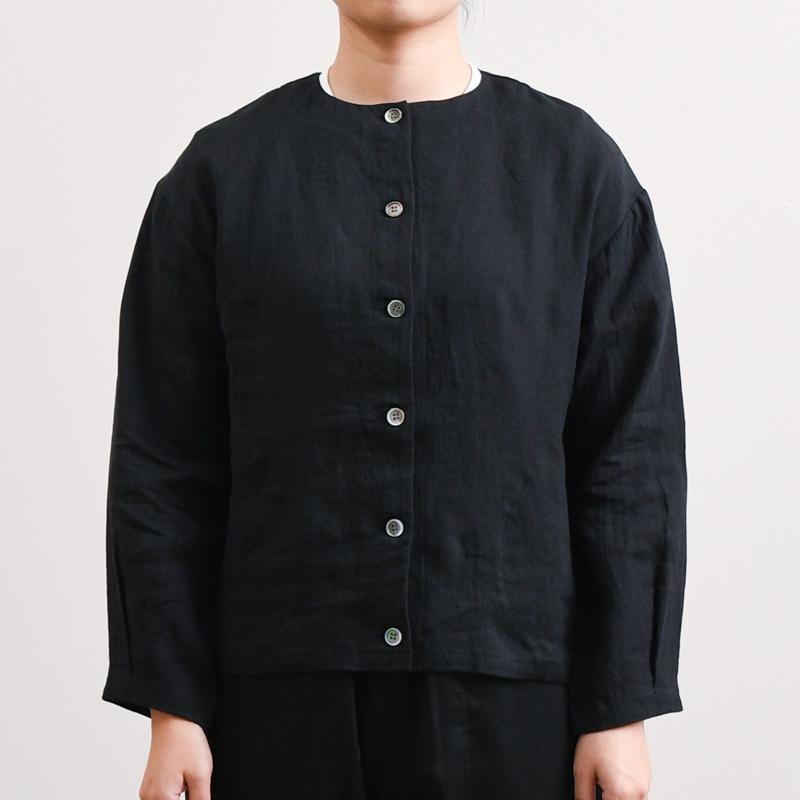 フレンチリネンワッシャー2 ジャケット(長袖)
