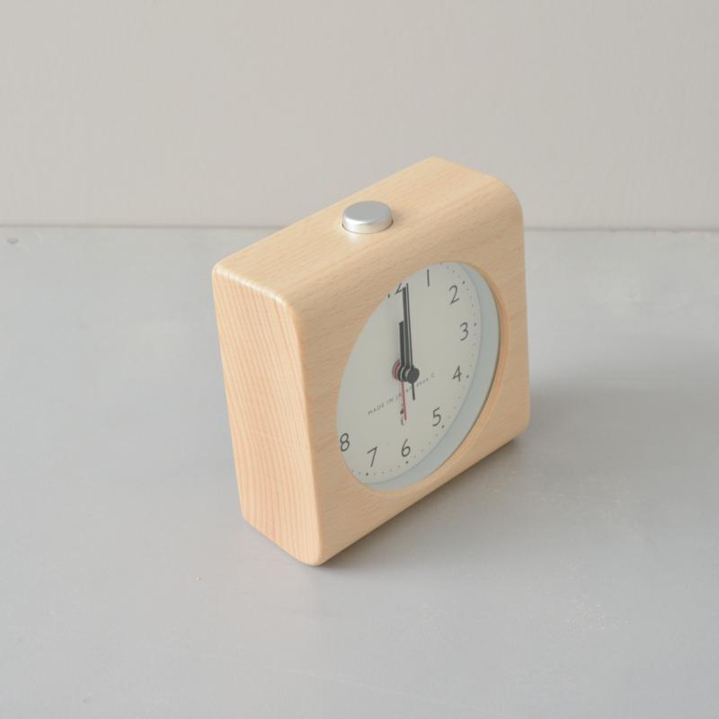 ブロッククロック(アラーム付置き時計)