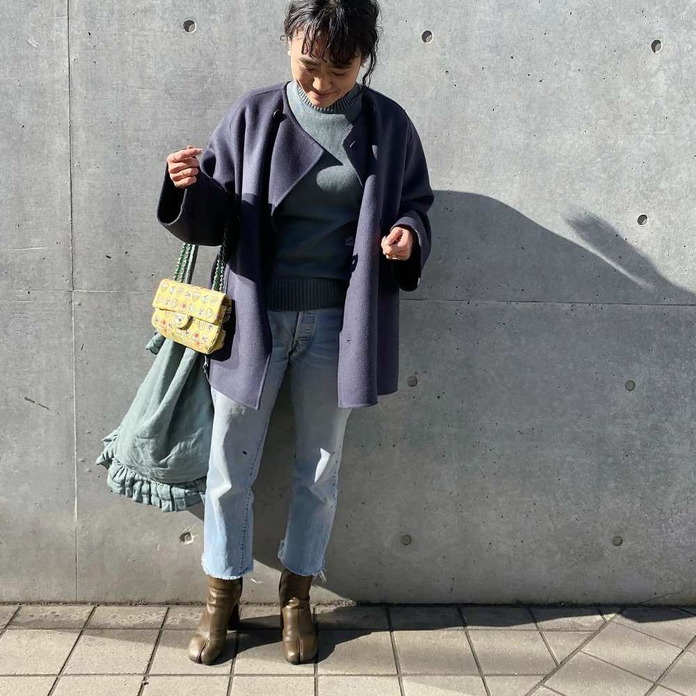 【予約】フリルワンショルダーバッグ[GREEN] COUDRE