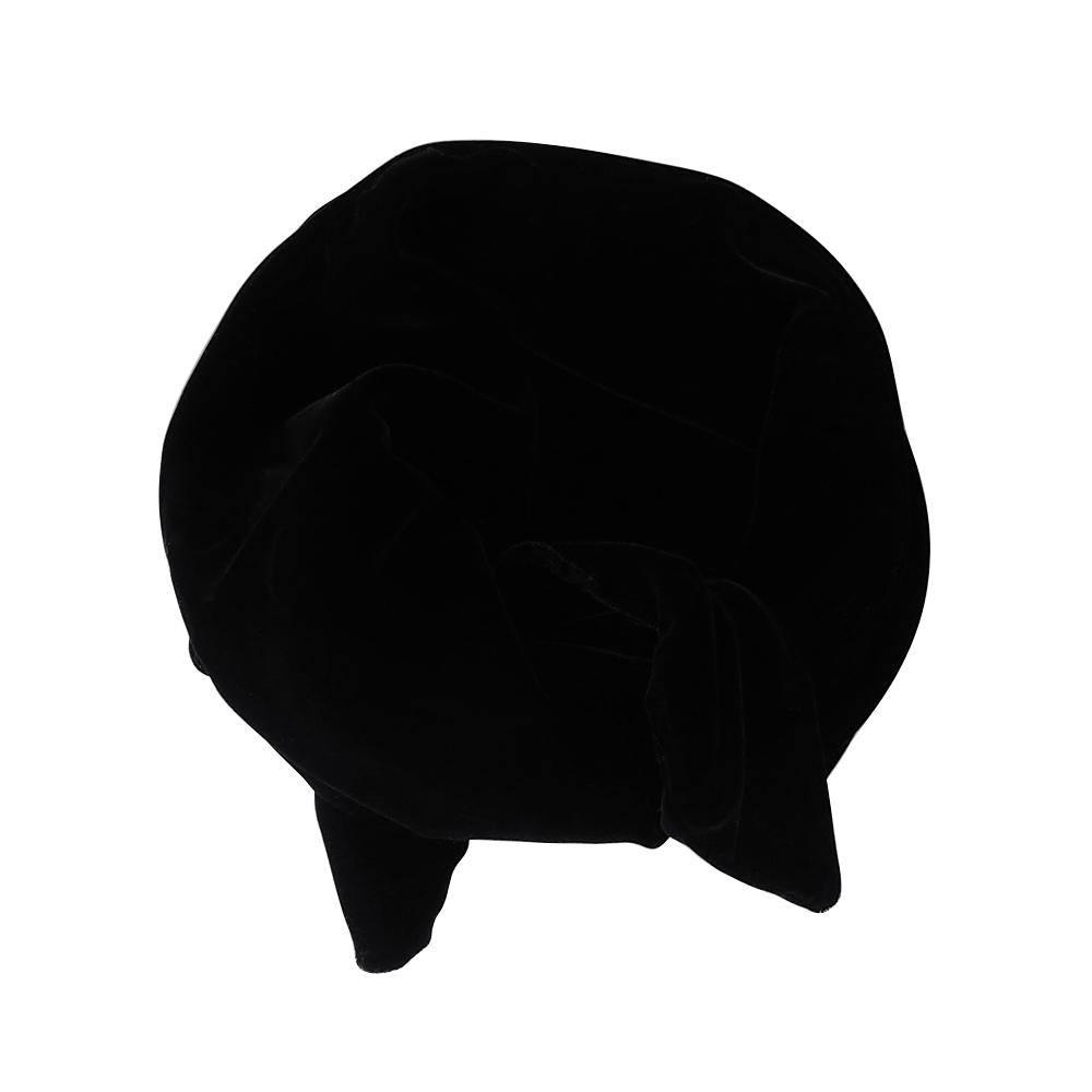 ベルベットワイヤーターバン[BLACK] COUDRE
