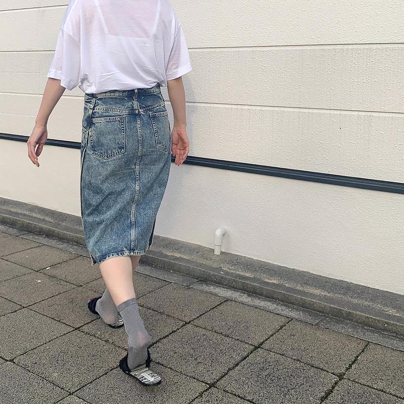 ベーシックカラーTシャツ[WHITE] COUDRE