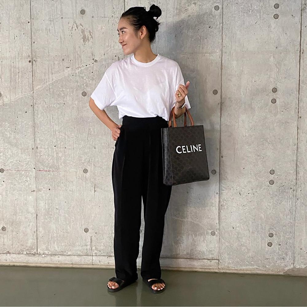 ニュアンスカラーTシャツ[SKIN PINK] COUDRE