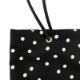 LONG SHOULDER TOTE[DOT BLACK] COUDRE