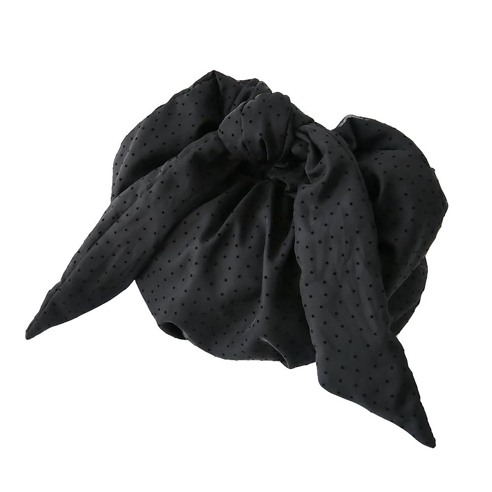 ドットチュールリボンショルダーバッグ[BLACK] COUDRE