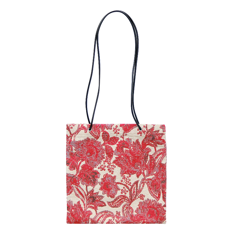 GOBELIN LONG SHOULDER TOTE[RED] COUDRE