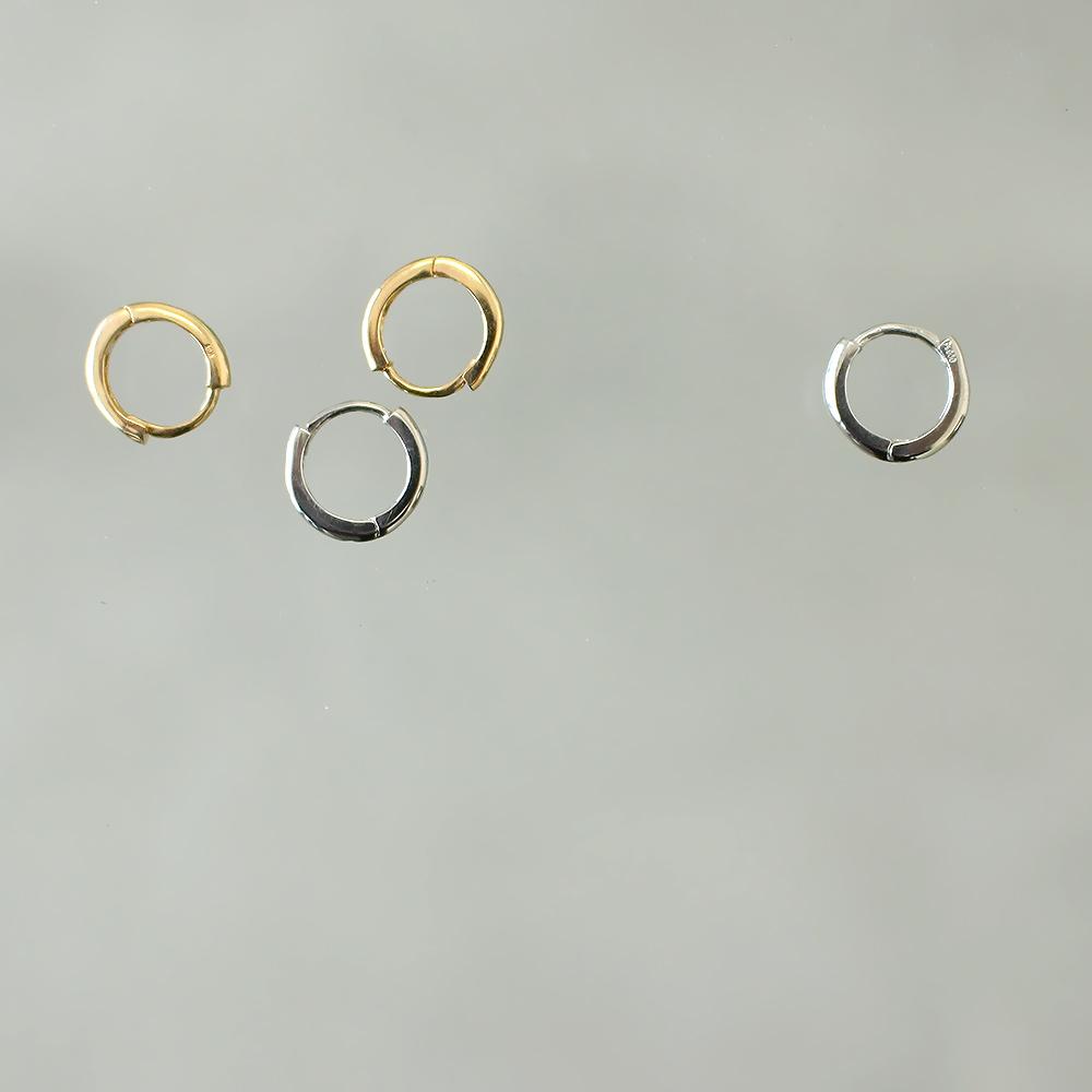 【予約】リングピアス 2PCS[GOLD] COUDRE