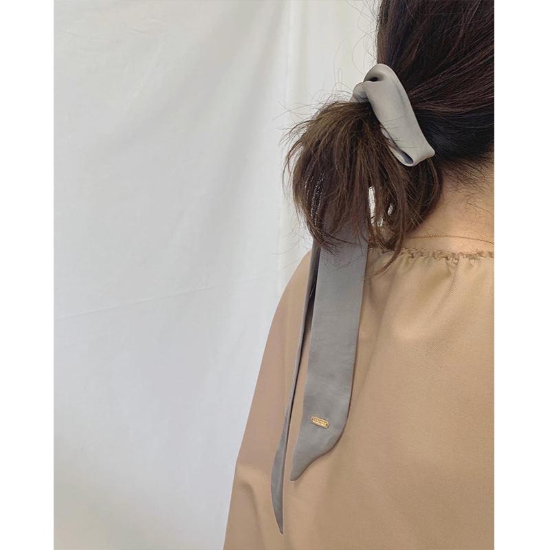 RIBBON HAIR TIE[GREIGE] COUDRE〈JJ 10月号〉