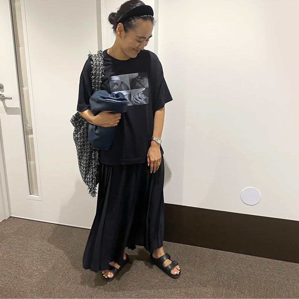 【予約】TWEED ONE SHOULDER BAG[BLACK] COUDRE〈Oggi 6月号〉