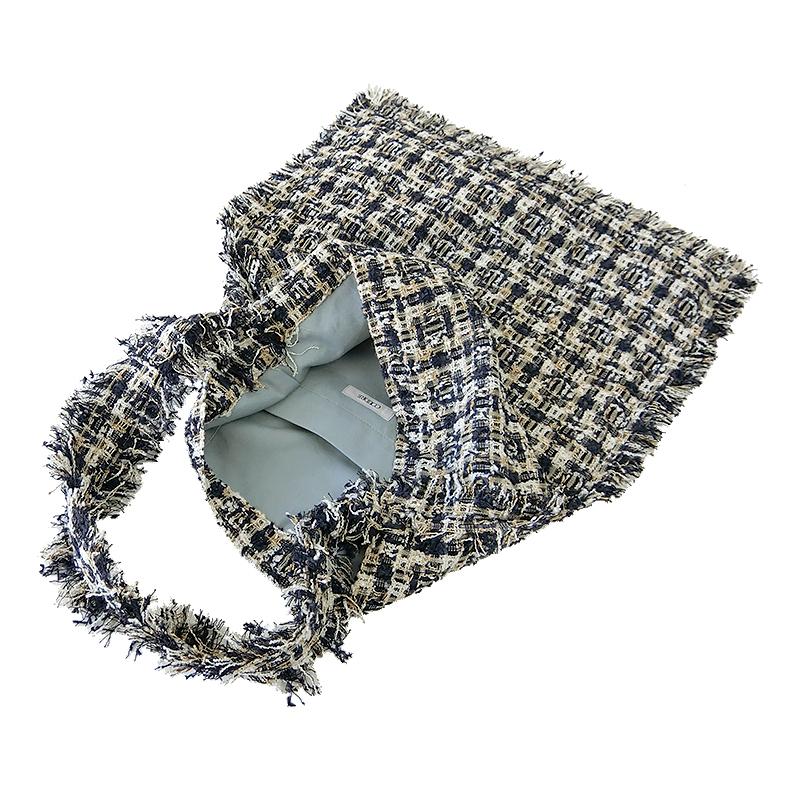 TWEED ONE SHOULDER BAG[NAVY] COUDRE