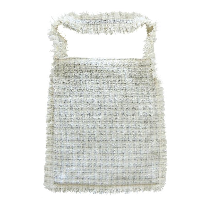 TWEED ONE SHOULDER BAG[WHITE] COUDRE