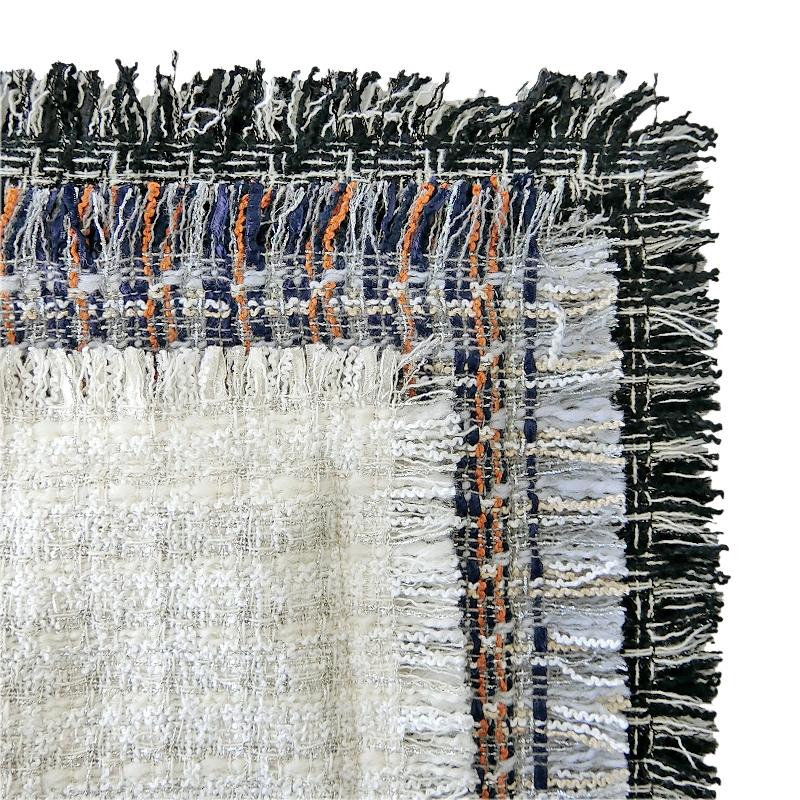 TWEED LONG SHOULDER TOTE[WHITE] COUDRE〈JJ 8月号〉