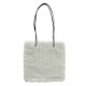TWEED LONG SHOULDER TOTE[WHITE] COUDRE