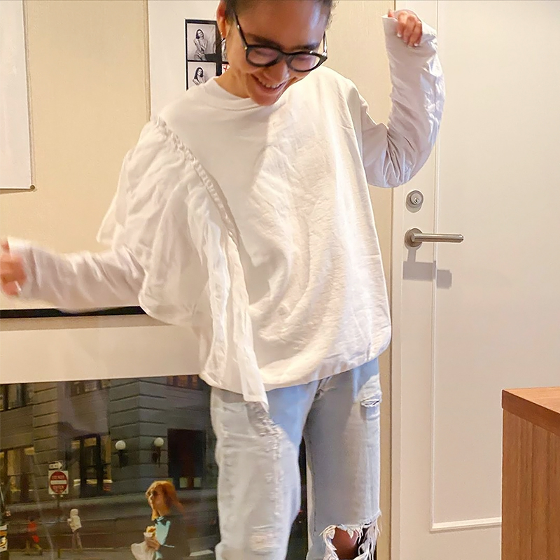 LONG Tshirts[WHITE] COUDRE