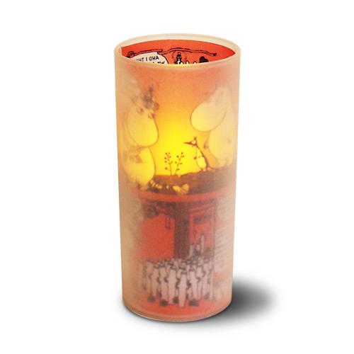 Cuore moomin LED candle クオーレ ムーミン LEDキャンドル