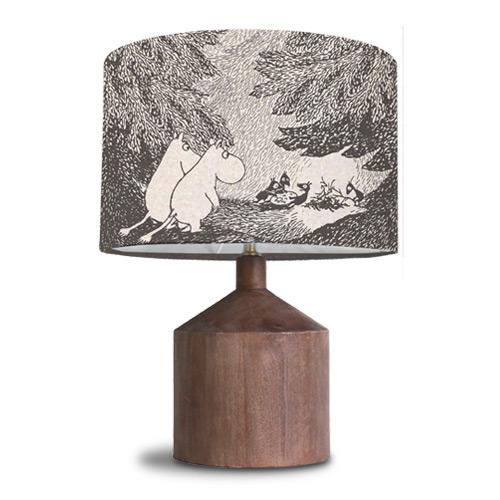 ムーミン谷の切り株 table lamp テーブルランプ