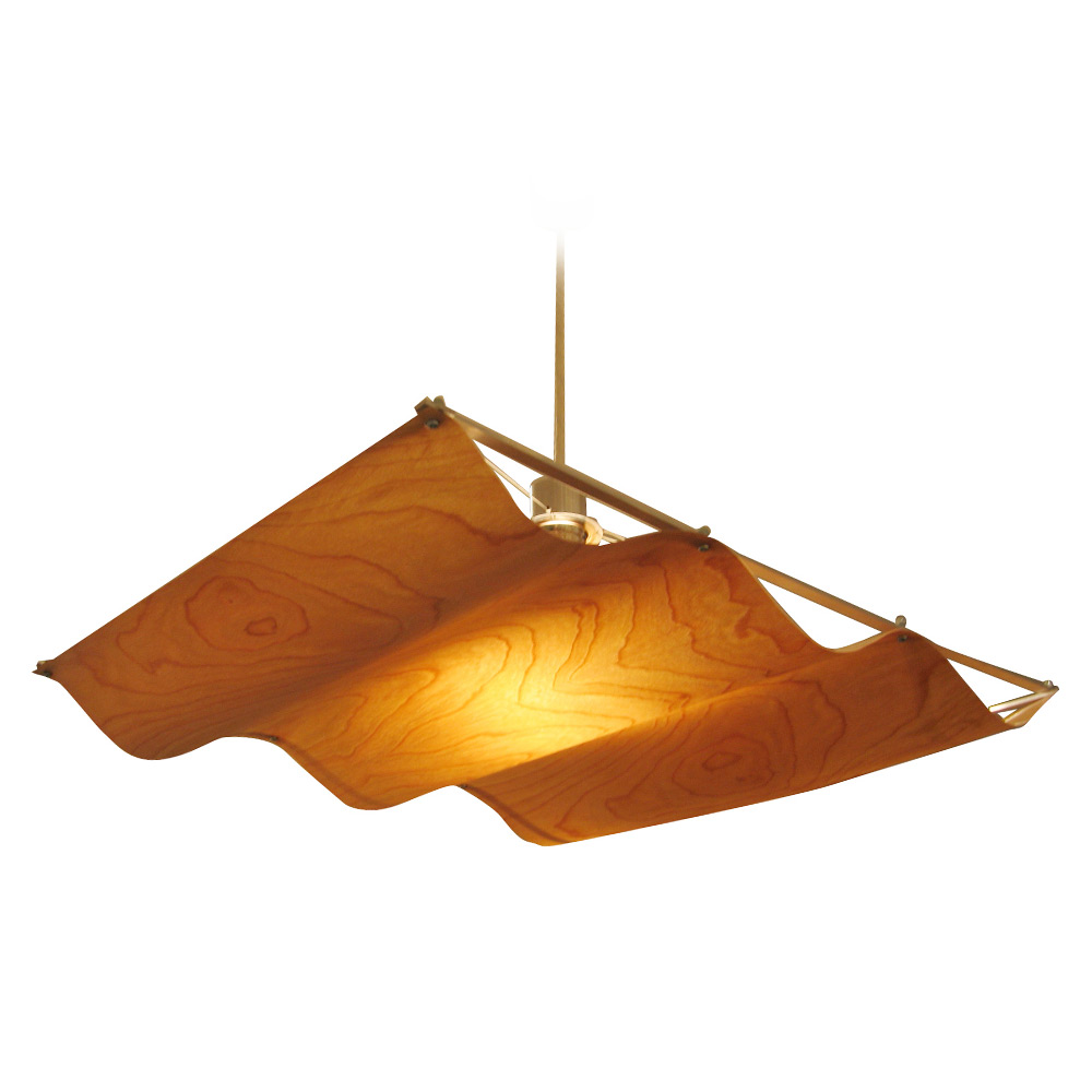 Onda-wood pendant lamp オンダ ウッド ペンダントランプ