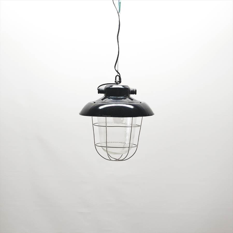 L001 / ブラックシェード ガラスペンダント