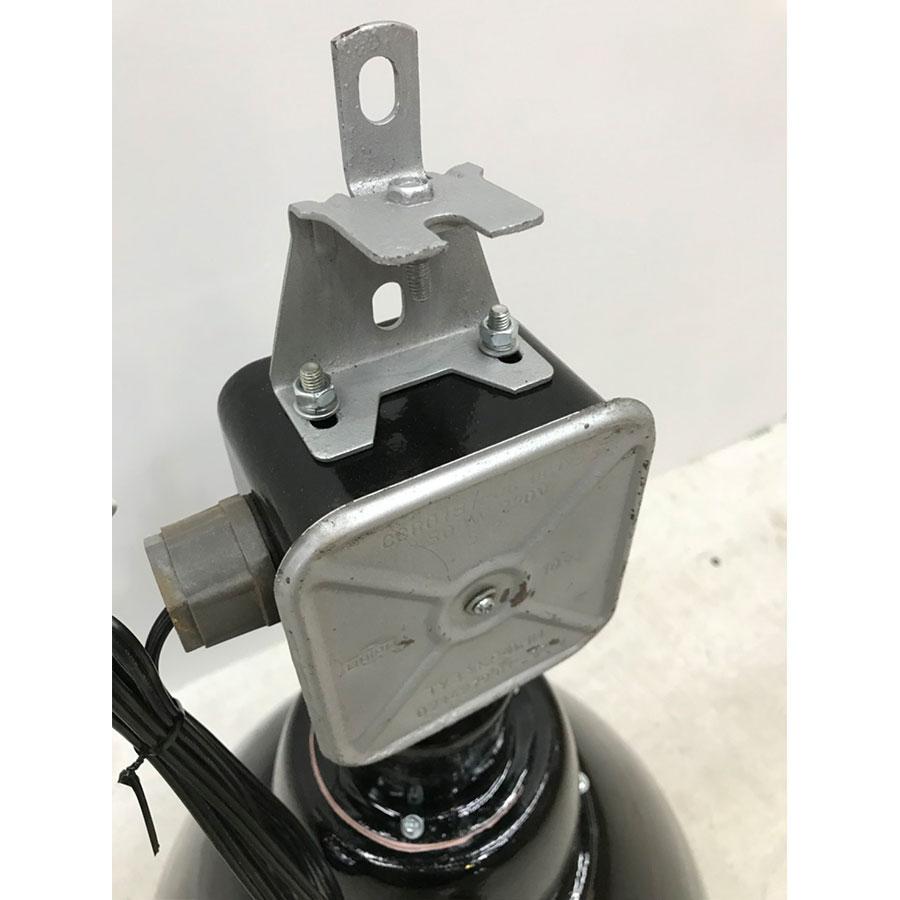 HT001 / インダストリアル シーリングランプ ブラック