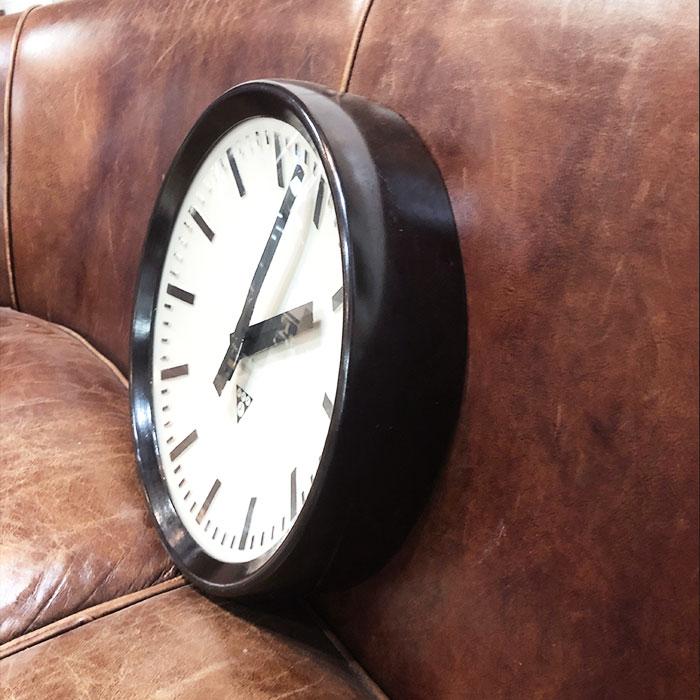 PA-S-005 / Pragotron パラゴトロン 掛時計ウォールロック 30cm