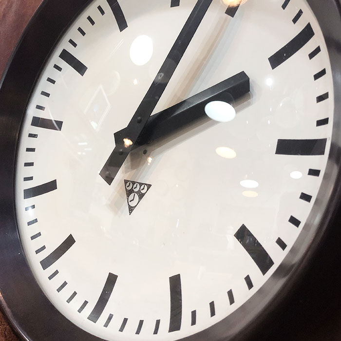 PA-S-006 / Pragotron パラゴトロン 掛時計ウォールロック 30cm