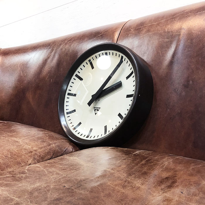 PA-S-008 / Pragotron パラゴトロン 掛時計ウォールロック 30cm