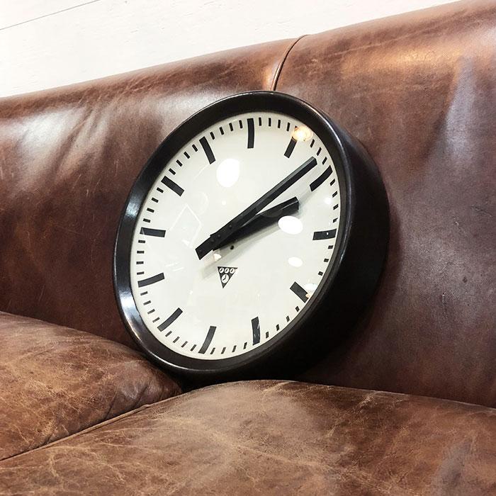 PA-S-010 / Pragotron パラゴトロン 掛時計ウォールロック 30cm