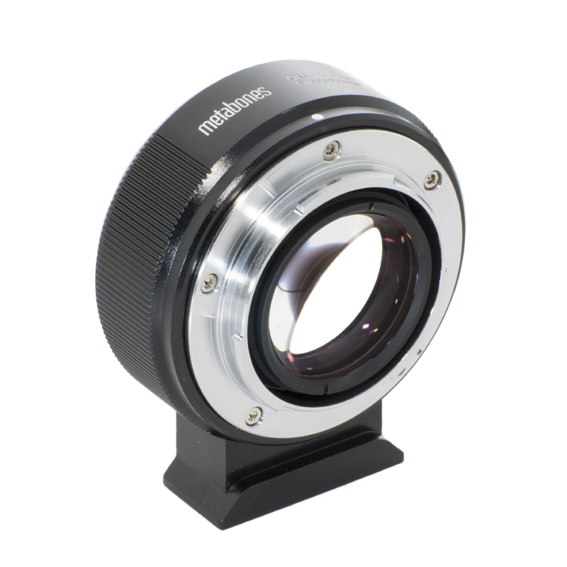 METABONES  MB_SPOM-X-BM2 マウント(ボディ側:Fujifilm X/レンズ側:Olympus OM)Speed Booster ULTRA 0.71x ブラック