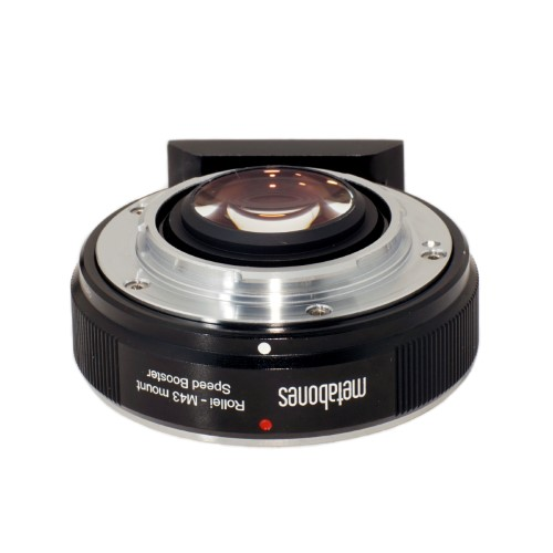 METABONES  MB_SPROLLEI-m43-BM1 マウント(ボディ側:Micro Four Thirds/レンズ側:Rollei QBM)Speed Booster 0.71x ブラック