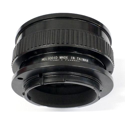 HAWKSFACTORY M42S14 SONY-E マウント(ボディ側:Sony E/レンズ側:M42マウント)補助ヘリコイド付き ブラック