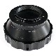 HAWKSFACTORY ARRI-PL TO M4/3 マウント(ボディ側:Micro Four Thirds/レンズ側:Arriflex PL) ブラック