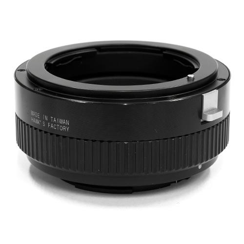 HAWKSFACTORY NIKON F TO S/E HELICOID マウント(ボディ側:Sony E/レンズ側:Nikon F)補助ヘリコイド付き